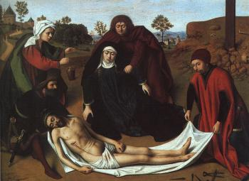Petrus Christus : The Lamentation